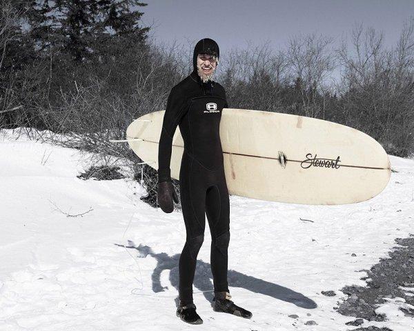 Зимний серфинг на озере Верхнее (14 фото)