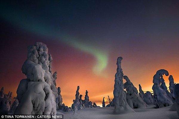 Впечатляющие пейзажи Лапландии (10 фото)