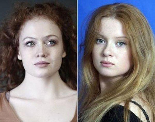 Похожие друг на друга знаменитости (16 фото)