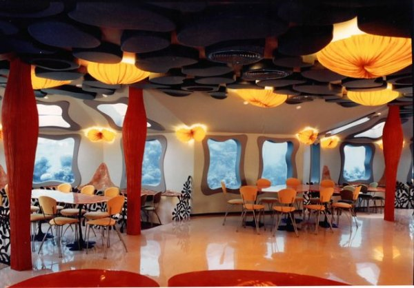 Уникальный подводный ресторан Red Sea Star (21 фото)