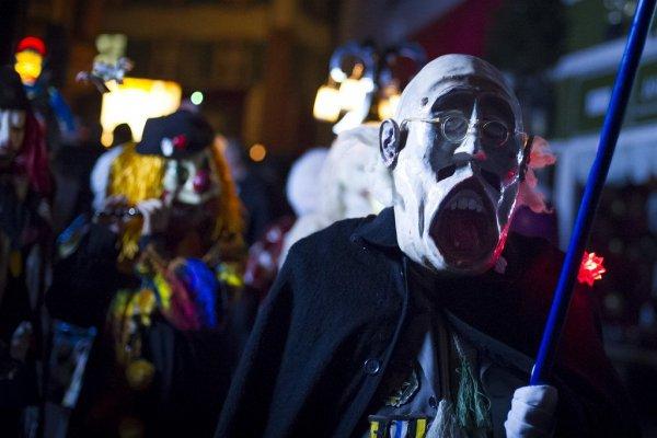 Красочный карнавал в Базеле (18 фото)