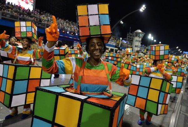 Бразильский карнавал 2014 (27 фото)