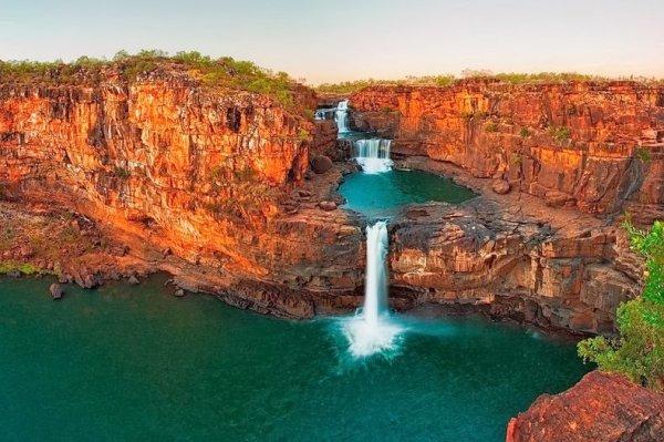 Водопад Митчелл в Австралии (7 фото)