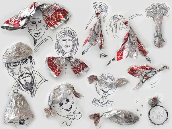 Оригинальные рисунки Виктора Нунеса (18 фото)