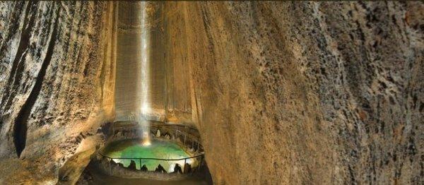 Руби Фоллс, подземный водопад в штате Теннеси (8 фото)