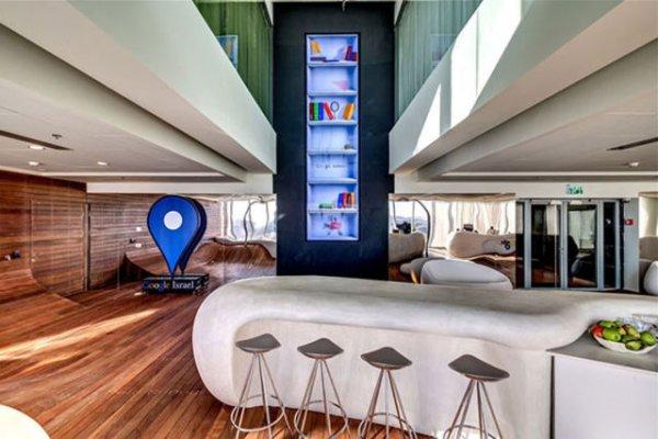 Офис Google в Тель-Авиве (30 фото)