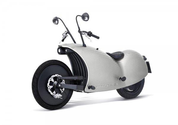 Электрический мотоцикл Johammer J1 (9 фото)