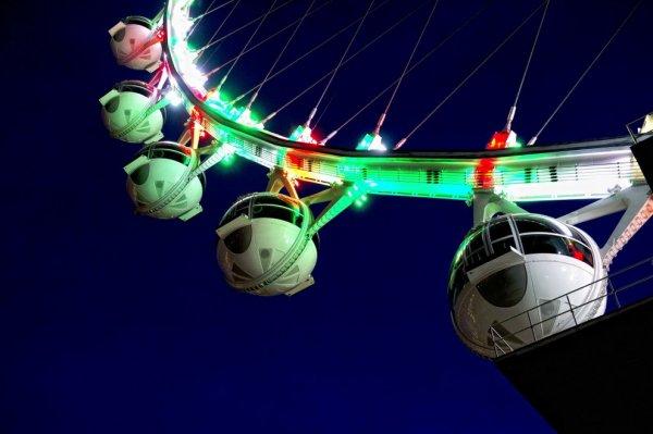 Ferris Wheel в Лас-Вегасе – самое высокое колесо обозрения (9 фото)