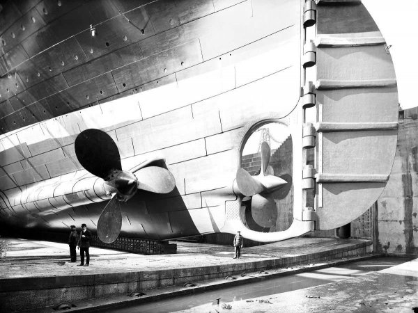 Фотографии Титаника, которые обладают историческим значением (17 фото)