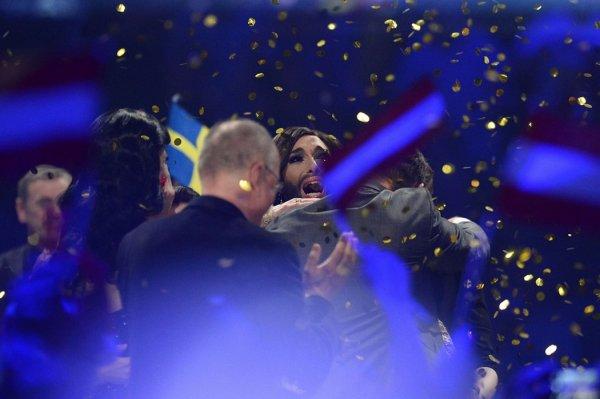 Кончита Вурст из Австрии – победитель конкурса Евровидение-2014 (8 фото + видео)