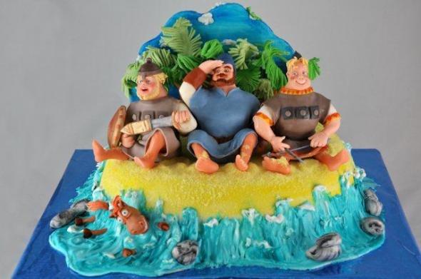 Кулинарные шедевры: невероятно детализированные торты (28 фото)