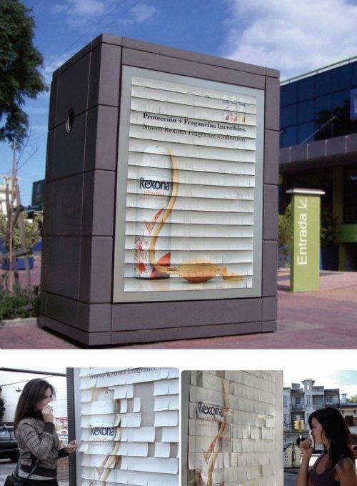 Яркие примеры наружной рекламы (16 фото)