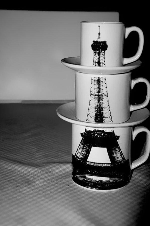 Чашки и кружки с оригинальным дизайном (35 фото)