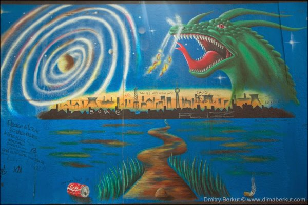 Граффити-галерея под открытым небом East Side Gallery (20 фото)