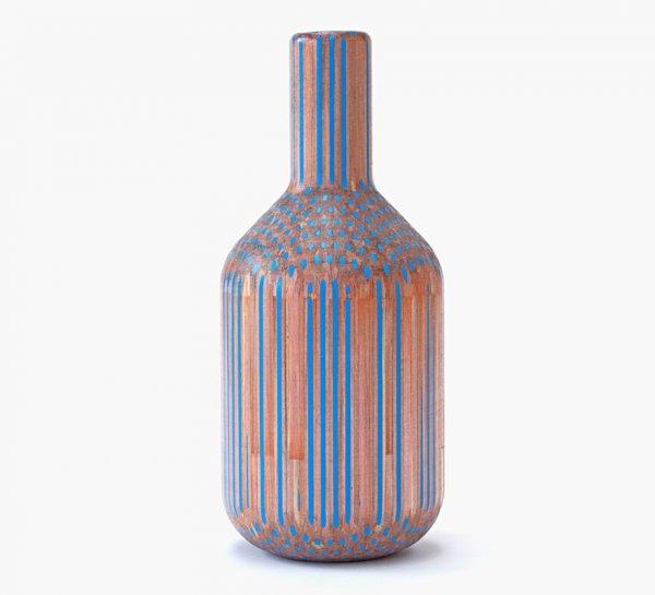 Художник превращает карандаши в прекрасные вазы (14 фото + видео)