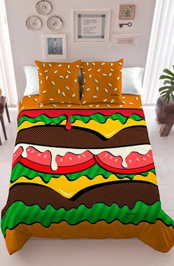 Оригинальный дизайн постельного белья (21 фото)
