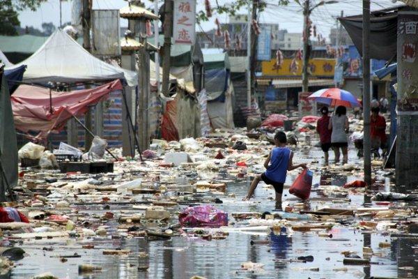 Загрязнение воды в Китае (37 фото)