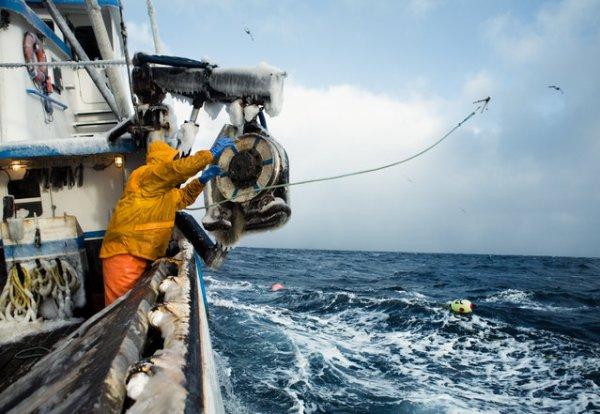 Повседневная жизнь рыбаков в Беринговом море Аляски (15 фото)