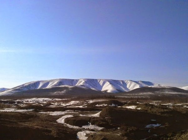Горный массив Кондёр в Восточной Сибири (6 фото)