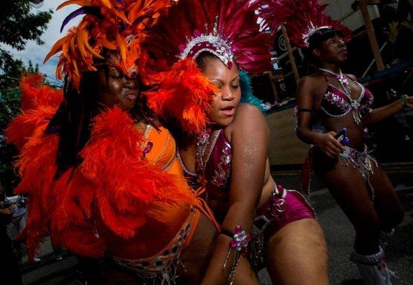 В Нью-Йорке прошёл Карибский карнавал-2014 (14 фото)