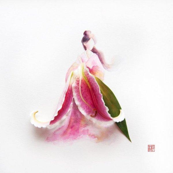 Фантастические цветы от Limzy (15 фото)
