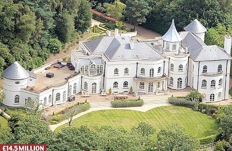 Топ-5 самых дорогостоящих домов профессиональных футболистов