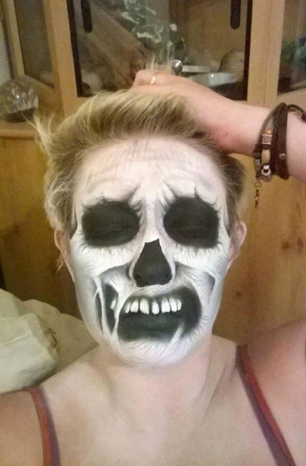 Ужасающий грим на Хэллоуин от Никки Шелли (20 фото)