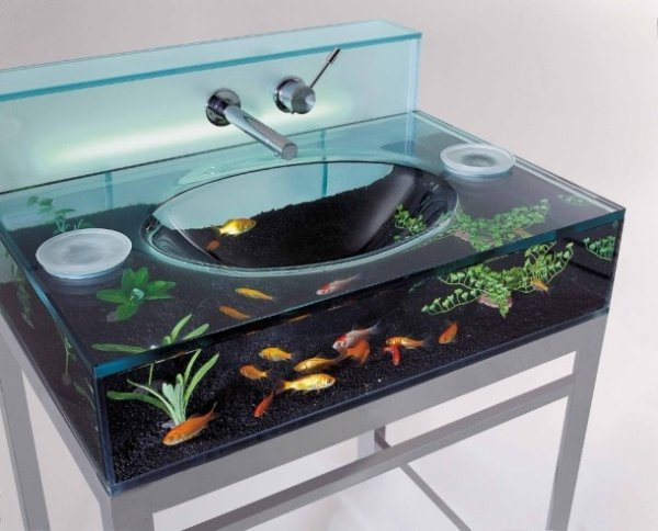 Топ-25 необычных аквариумов