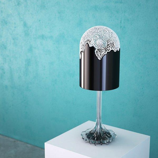 Светильник, напечатанный на 3D-принтере (6 фото)