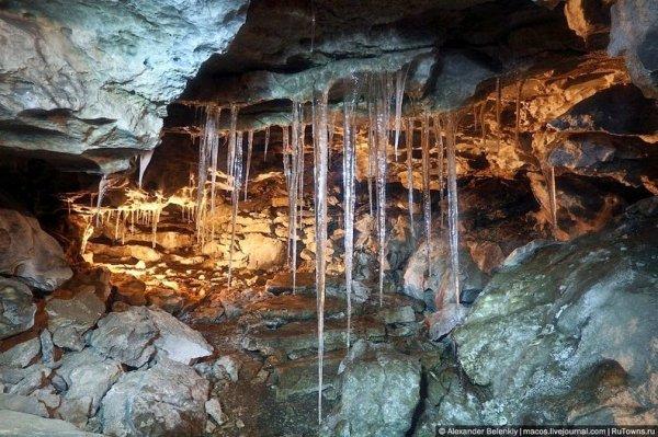 Кунгурская ледяная пещера (10 фото)