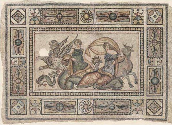 2000-летняя мозаика обнаружена в Турции (14 фото)