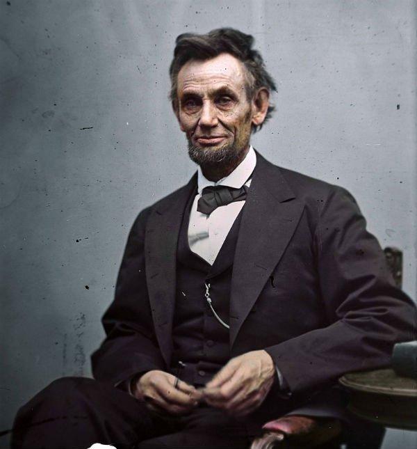 Колоризированные фотографии исторических личностей (15 фото)