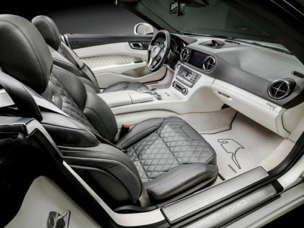 Ограниченная серия Mercedes-Benz SL-63 AMG, посвящённая чемпионам Формулы-1 (8 фото)