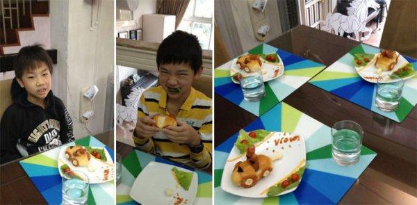 Креативные хот-доги матери четверых детей (10 фото)