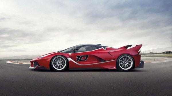 Ferrari FXX K – самый мощный суперкар (6 фото)