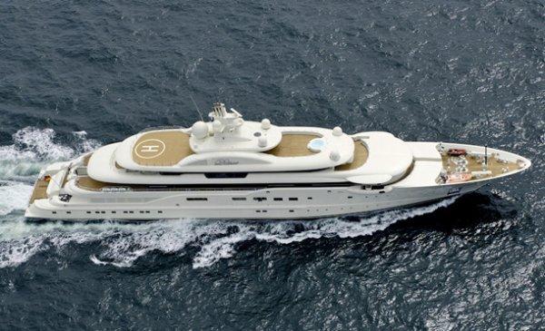 Топ-10: Самые дорогие яхты в истории