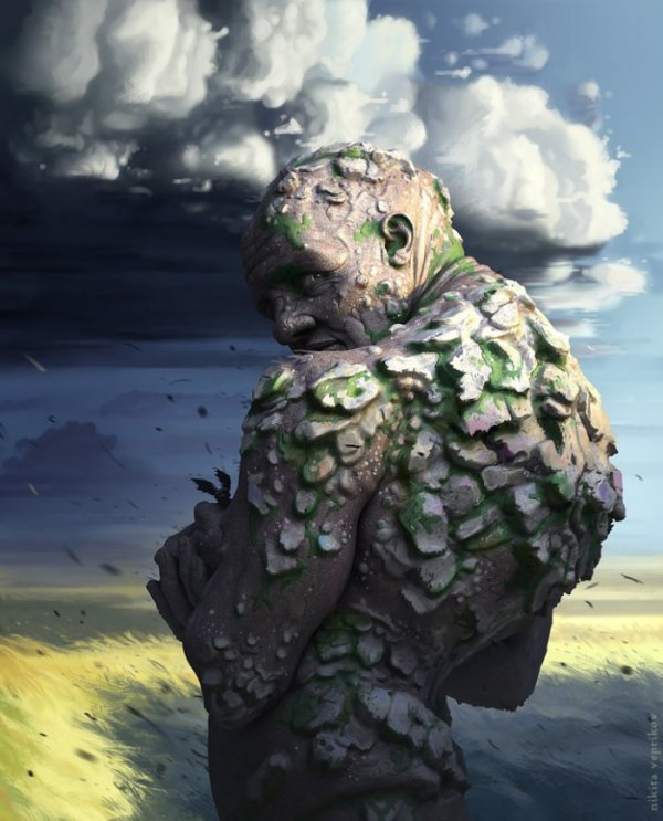 Цифровые трёхмерные иллюстрации Никиты Веприкова (12 фото)