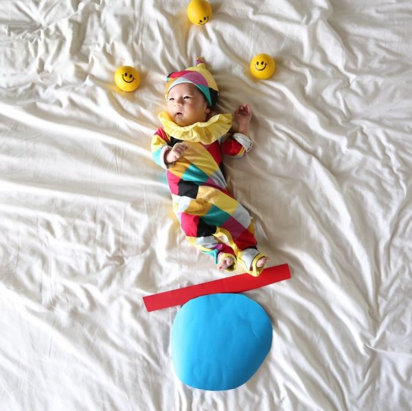 Фотоприключения спящей дочурки (25 фото)