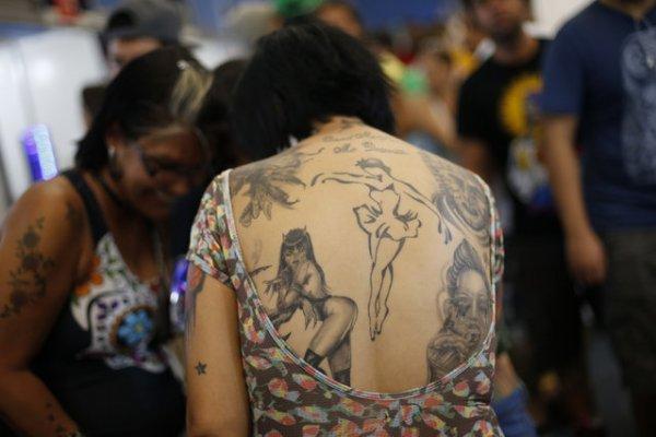 Неделя татуировки Рио в Бразилии (9 фото)