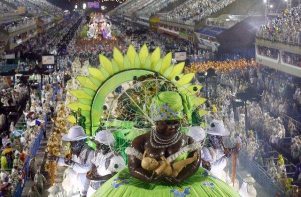 Карнавал в Бразилии (75 фото)