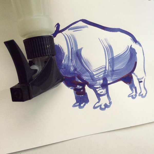 Обычные предметы в забавных рисунках Кристофа Нимана (20 фото)