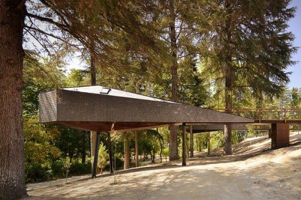 Дома среди деревьев от Rebelo de Andrade Studio (15 фото)
