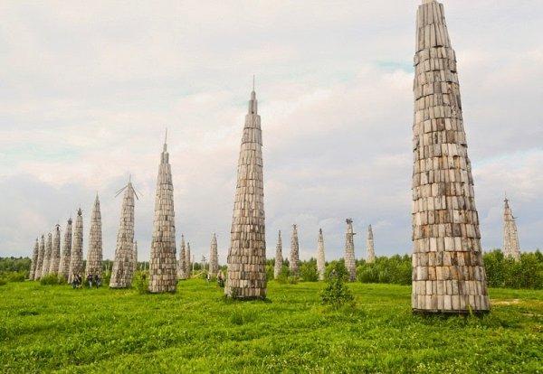 Архстояние: Крупнейший в России фестиваль архитектурных проектов на открытом воздухе (21 фото)