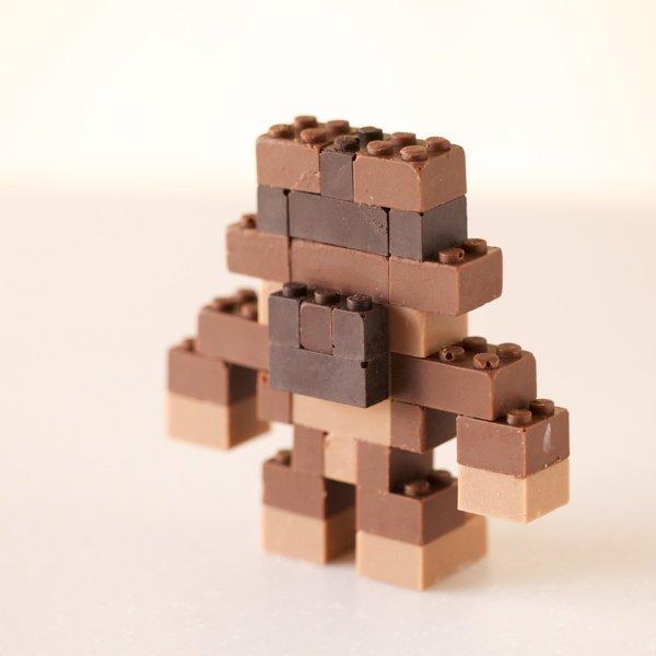Шоколадный конструктор LEGO от Акихиро Мицуучи (12 фото)