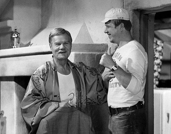 На съёмочных площадках советских комедий (15 фото)