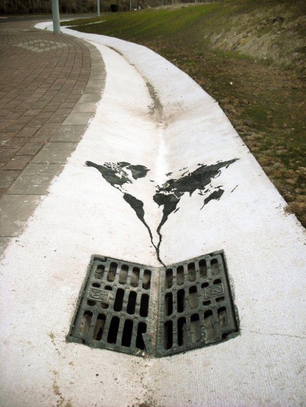 Мощный стрит-арт от тех, кому есть что сказать миру (22 фото)