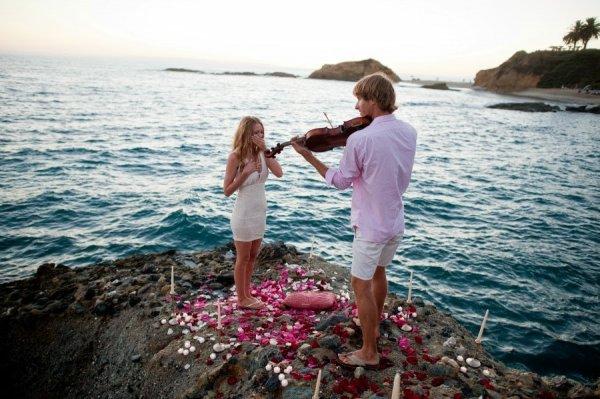 Романтичные и необычные предложения руки и сердца (16 фото)