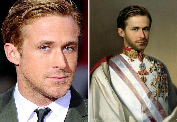 Исторические картины с современными знаменитостями (20 фото)