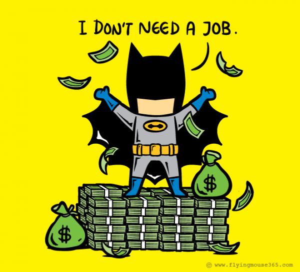 Если бы супергерои подрабатывали (16 фото)