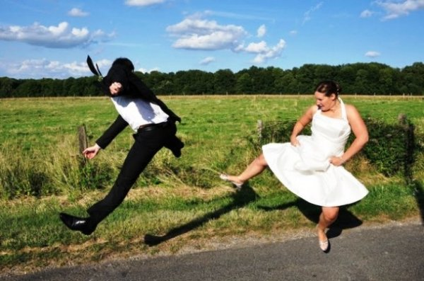 Топ-25: Свадебные фотографии, которые поднимут вам настроение